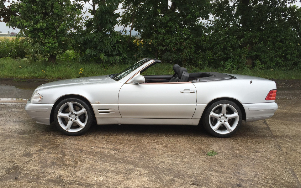 Performance Legends Mercedes Benz Sl320